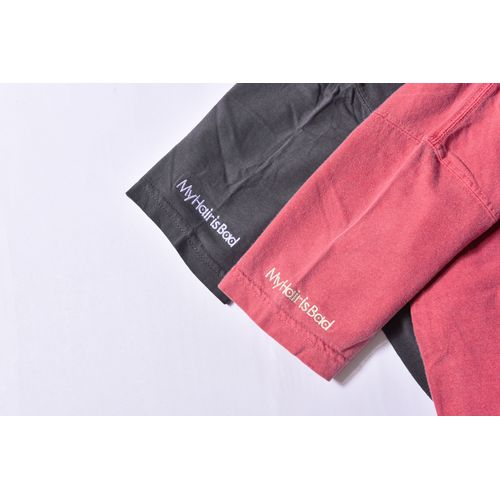 刺繍ビンテージTシャツ / クリムゾン