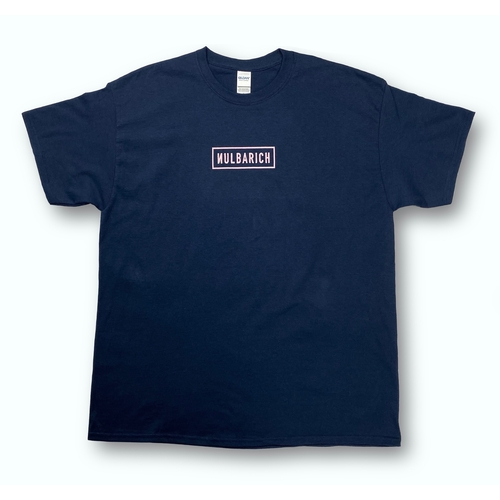 NULBARICH 『SQUARE LOGO』 HEAVY WEIGHT LIMITED T-SH/navy