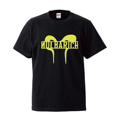Nulbarich logo T-shirt BLACK/LIME