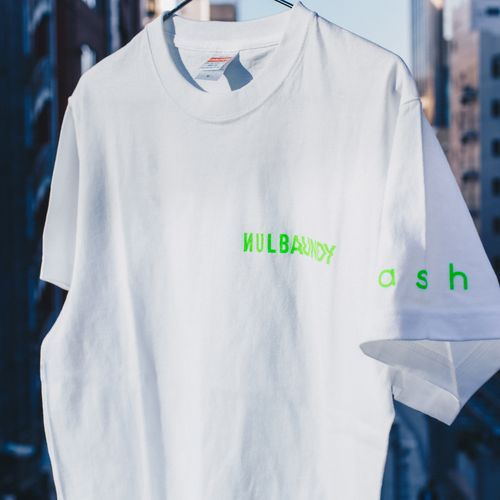 Nulbarich T-Shirt 「ASH feat. Vaundy」/green