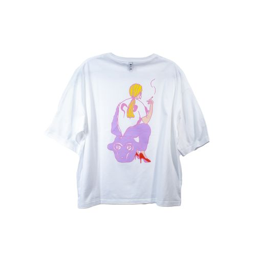 "JQプロデュース ""Nully T-shirts""/purple"