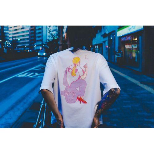 """JQプロデュース """"Nully T-shirts""""/purple"""