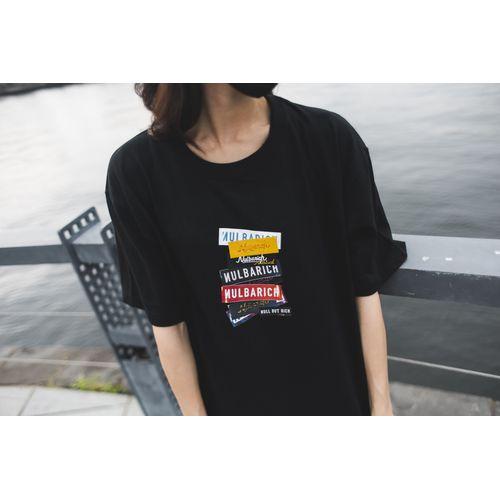 2021 Nulbarich T-Shirts/Black