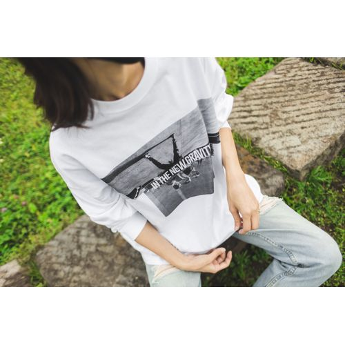 Nulbarich×DELUXE IN THE NEW GRAVITY Long sleeve T-Shirts