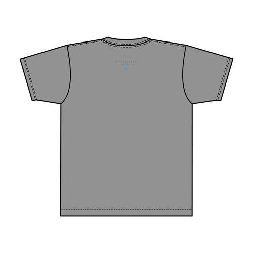 【通常配送】全国おひさま化計画 2021 ロゴTシャツ/グレー