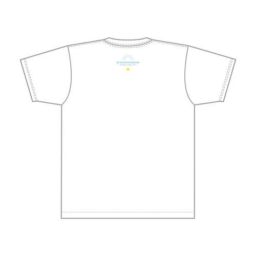 【通常配送】全国おひさま化計画 2021 ロゴTシャツ/ホワイト