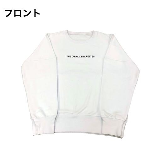 ネオンタイポスウェット/ホワイト