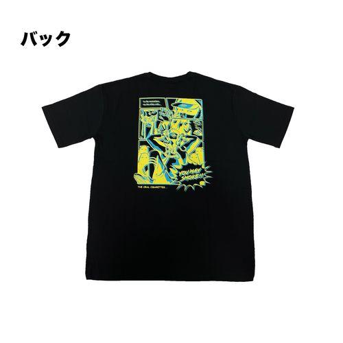 YOU MAY SMOKE #2 Tシャツ/ブラック