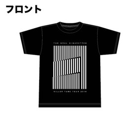 キラーチューンツアーTシャツ/ブラック