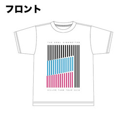 キラーチューンツアーTシャツ/ポップカラー
