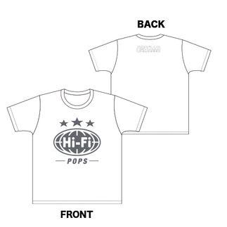 【ORESAMA】Hi-Fi POPS Tシャツ(通常カラー)