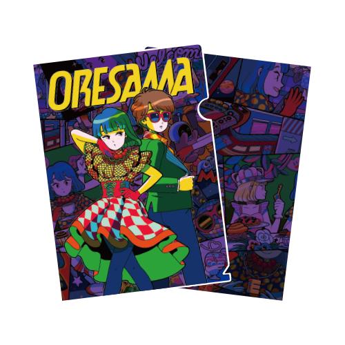 【ORESAMA】Hi-Fi POPSクリアファイル
