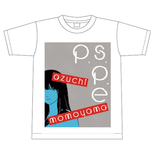 [P.S.P.E限定]azuchi momoyama Tシャツ【ホワイト】