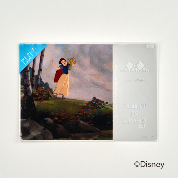 セルカード/キービジュアル/白雪姫