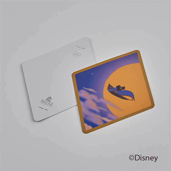 ひし形ポストカード/ジャスミン