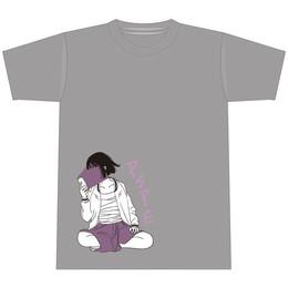 すみっこ少女Tシャツ