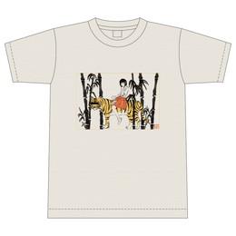 """""""カムフラージュ""""ツアーTシャツ 虎と少女Ver."""