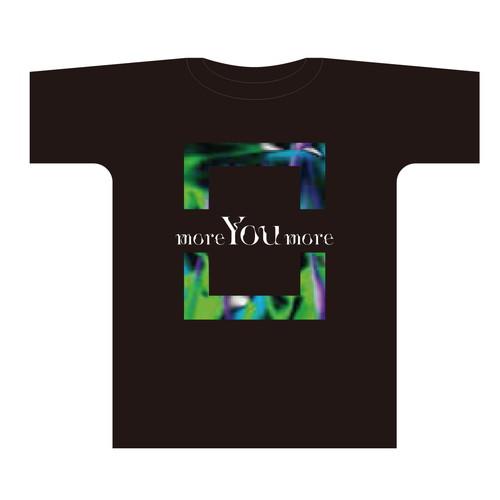 more You more ツアーTシャツ【ブラック】