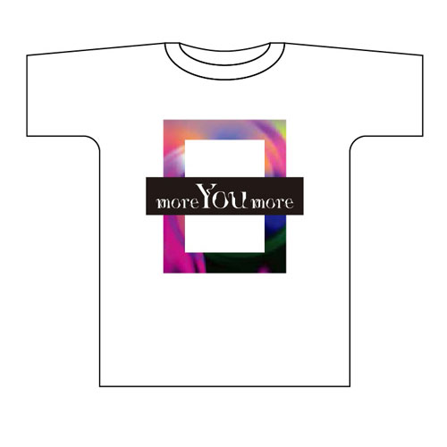 more You more ツアーTシャツ【ホワイト】