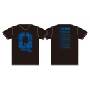 Q TOUR T-SHIRTS LOGO ver./BLACK