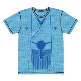 伽羅古袴Tシャツ【ライトブルー×ブルー】