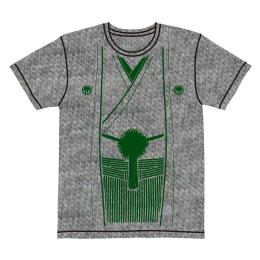 伽羅古袴Tシャツ【グレー×グリーン】