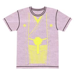 伽羅古袴Tシャツ【ライトピンク×クリームイエロー】