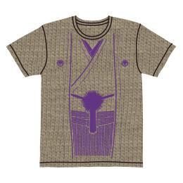 伽羅古袴Tシャツ【ベージュ×パープル】