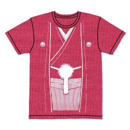 伽羅古袴Tシャツ【ピンク×ホワイト】