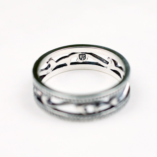 "ROVINSTREETオリジナル ""Eternity Wave Ring""【受注販売】"