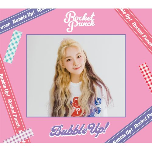 Japan Debut Mini Album「Bubble Up ! 」(初回限定盤A+初回限定盤B+通常盤 3形態セット)【特典アザージャケット ソヒver.】