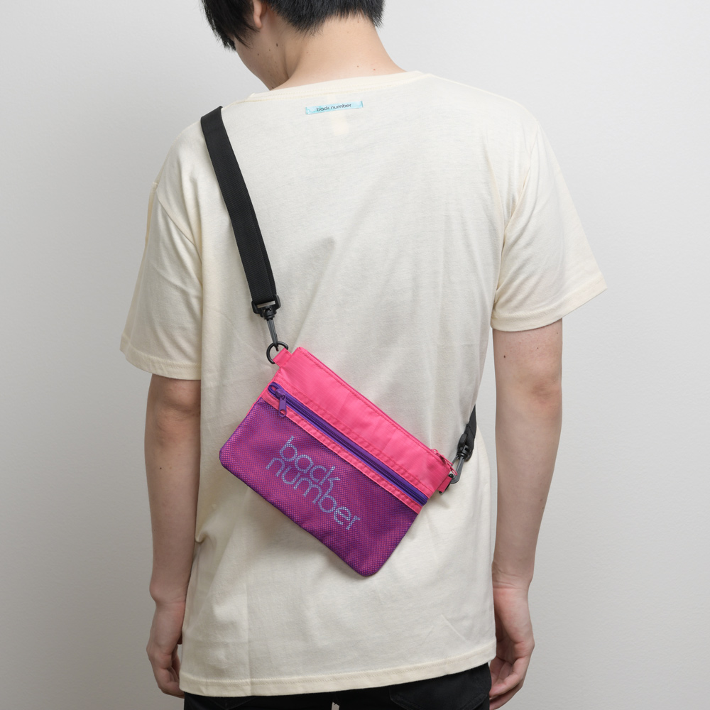 back number サコッシュ/ピンク