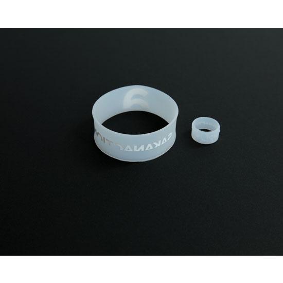 Rubber wristband & ring 6.1 SET