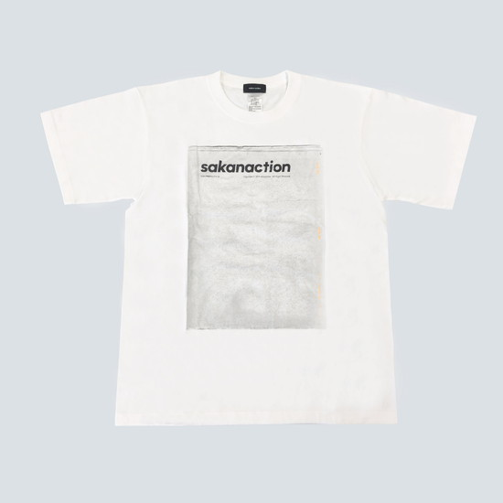 TABLOID TEE/White