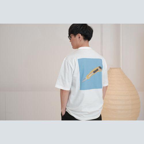 【中層ステイタス抽選販売】NF×LOOPWHEELER sakana collage T-Shirt