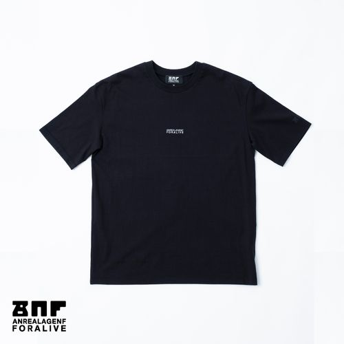 ANREALAGENF × 暗闇 FLUTECT TEE/Black