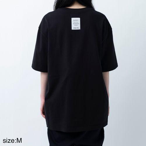 ANREALAGENF × 暗闇 FLUTECT TEE/Black