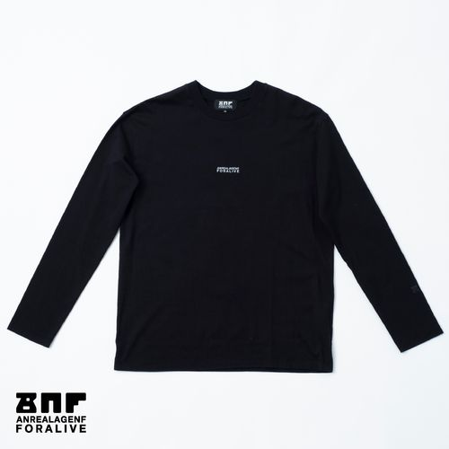 ANREALAGENF × 暗闇 FLUTECT LONG SLEEVE TEE/Black