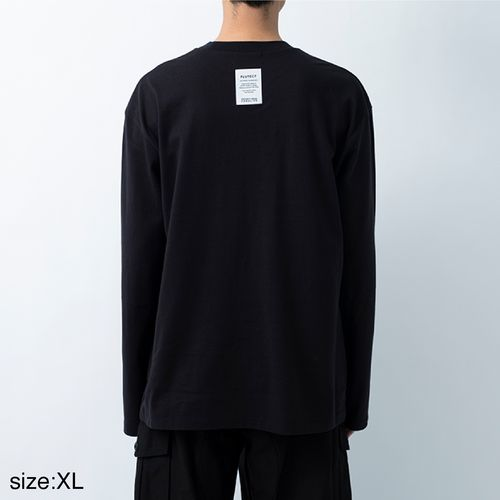 ANREALAGENF × 暗闇 FLUTECT LONG SLEEVE TEE/Black