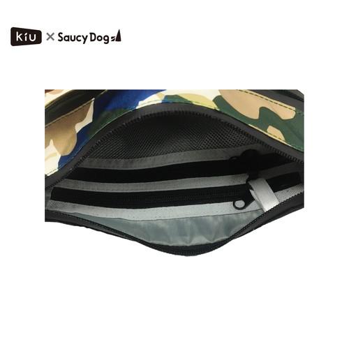 KiU×Saucy Dog 防水サコッシュ/カモフラワー