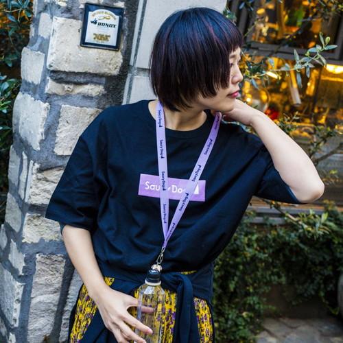 ぷくっとロゴビッグシルエットTシャツ/ホワイト