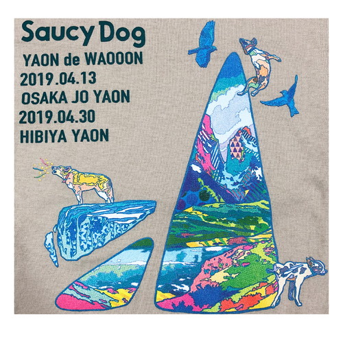 YAON de WAOOON 限定ロンT/サンド