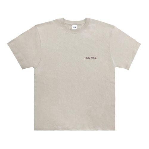 バックシルエットTシャツ 2021ver/サンドベージュ