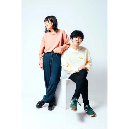 ライブうきうきバックプリントロンT/ドーンピンク