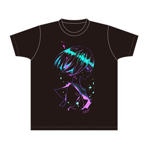 【さユり】Tシャツ(黒)