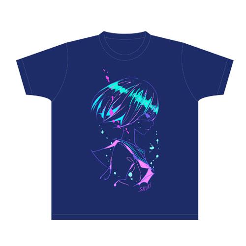 【さユり】Tシャツ(ネイビー)