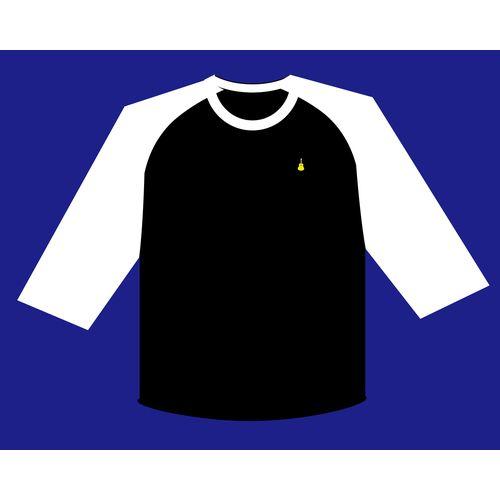 【さユり】ラグランTシャツ(黒)