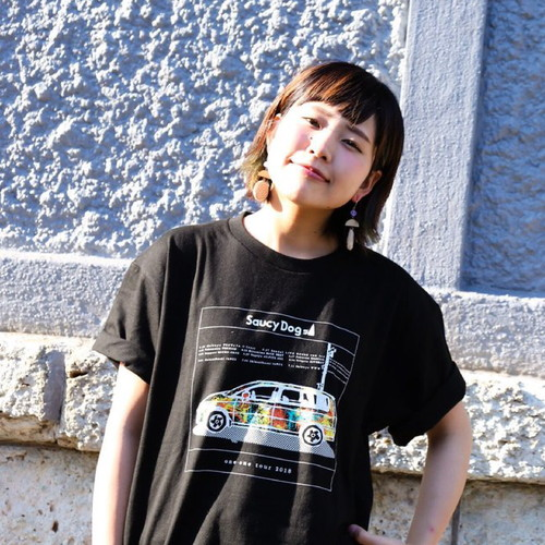 one-one tour 限定Tシャツ/ブラック