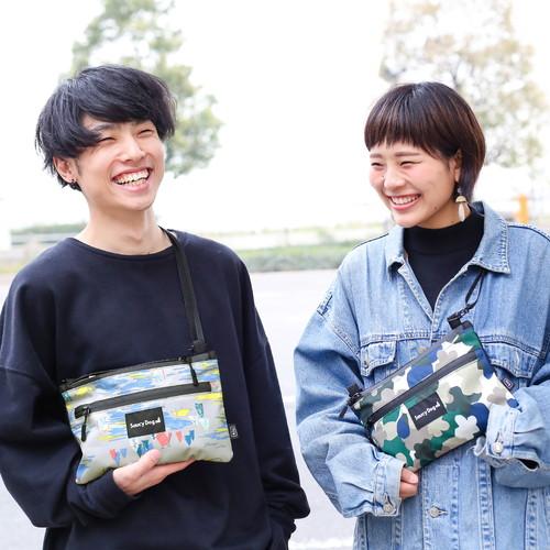 KiU×Saucy Dog 防水サコッシュ/クライマーズ