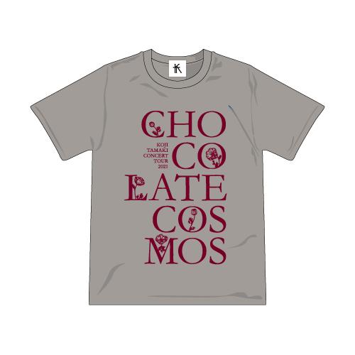 故郷楽団~Chocolate cosmos ツアーTシャツ<グレー>